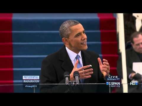 C-SPAN: President Barack Obama 2013 Inauguration And Address