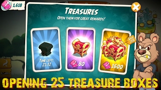 angry birds 2 opening 25 treasure boxes