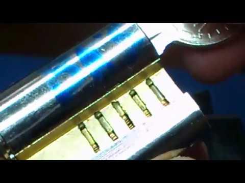 Взлом отмычками BKS   BKS Lock picking tool