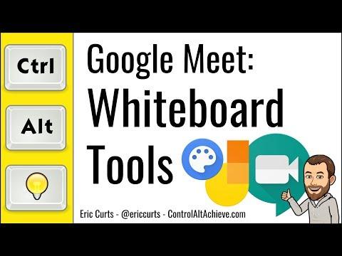 Google Meet: Whiteboard Tools For Google Meet