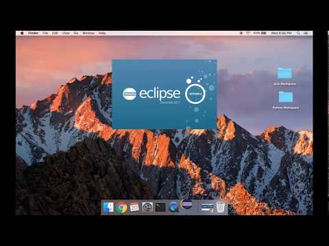 Setting Up Eclipse For Both Java And Python (using PyDev) On A Mac
