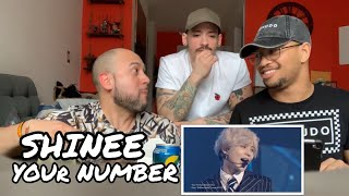 NON-KPOP FANS REACT TO SHINEE YOUR NUMBER | MUKBANG