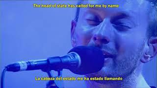 Radiohead- Lucky (Subtitulado al Español, Lyrics, Live) HD
