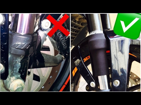 Prevent Your Motorcycle Forks from Leaking | DIY