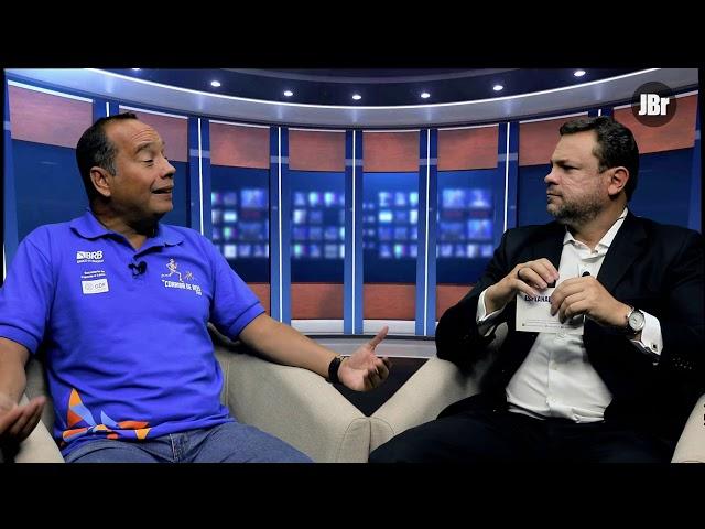 Entrevista com Leandro Cruz - secretário de Esporte GDF