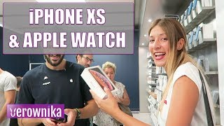 Reaccionando a IPHONE XS Y APPLE WATCH SERIES 4 | UNBOXING VLOG