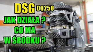Sekcja zwłok, DSG, DQ250, Dwusprzęgłowa skrzynia biegów, jak działa i co ma w środku?