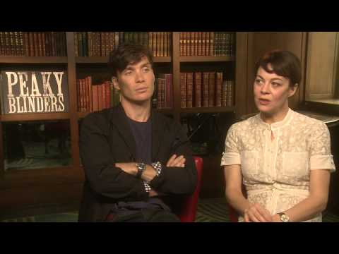 Cillian Murphy and Helen McCrory Peaky Blinders Series 2
