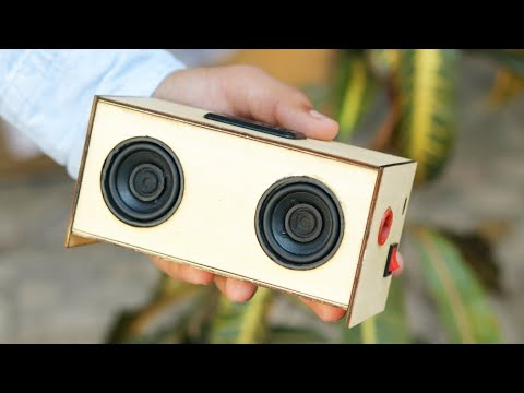 How to Build a Speaker From Wood