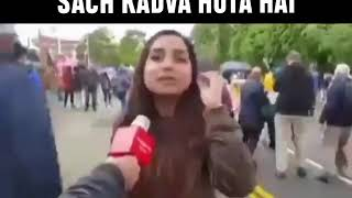 Pakistan girl frustration on pakistani cricket team after loosing against India in worldcup2019