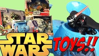 Imaginext: Star Wars Darth Vader Ship Toy Unboxing and Review