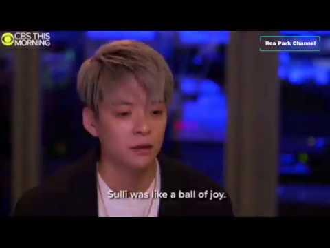 Amber talks about Sulli
