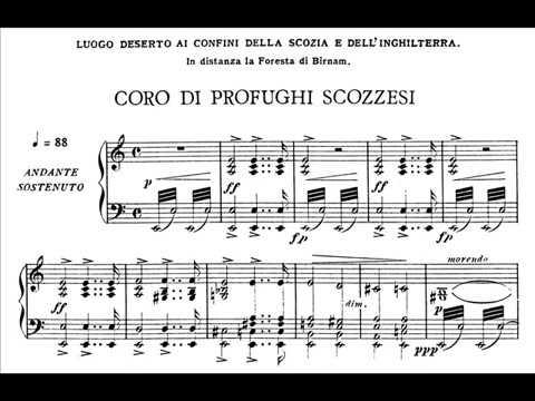 Verdi, Macbeth - Coro