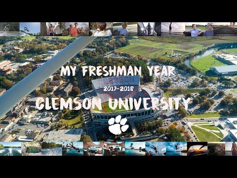 My Freshman Year // Clemson University (2017-2018)