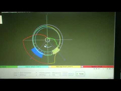 Диамаг-2. Тест PX. Датчик давления в цилиндре.