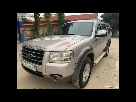 Xe Ford Everest 2007, giá 250 triệu, Ngọc, 0912 785 710, Thanh Sơn Phú Thọ