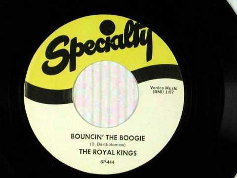 The Royal Kings   Bouncin' The Boogie 1952