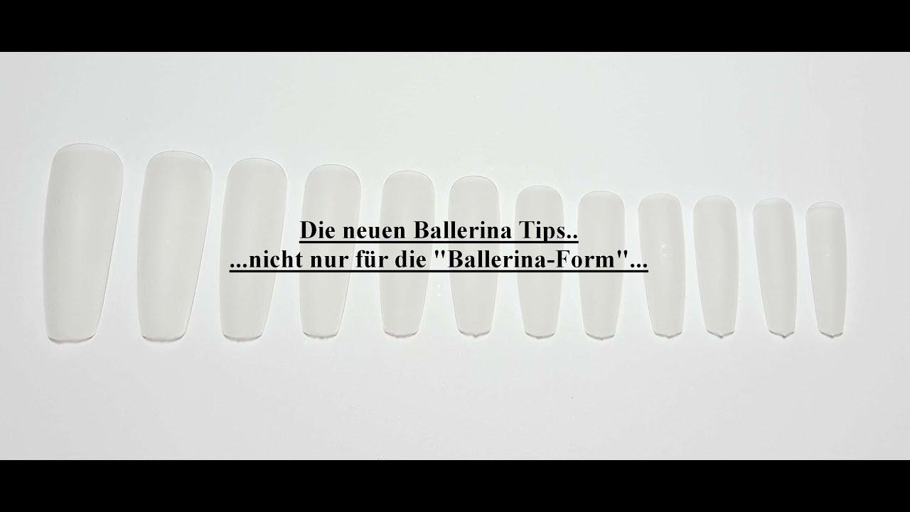 geln gel in ballerina form so einfach die neuen ballerina tips f r anf nger und profis youtube. Black Bedroom Furniture Sets. Home Design Ideas