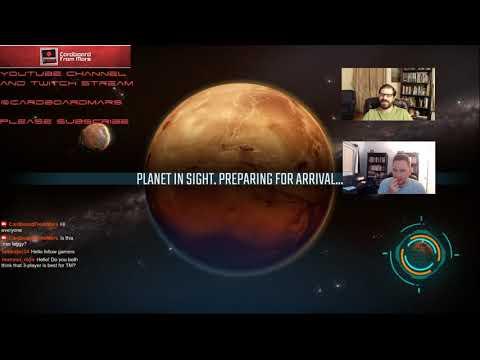 Terraforming Mars - Gameplay Vid #37 (Tharsis Republic) - Cardboard from Mars