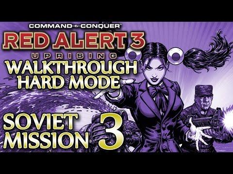 Ⓦ Red Alert 3 Uprising Walkthrough ▪ Hard - Soviet Mission 3 ▪ Yucatan