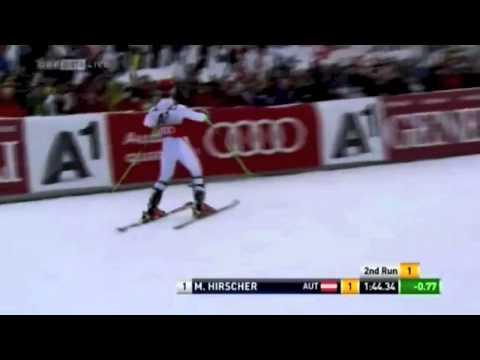 Marcel Hirscher Winner Slalom   Kitzbühel 2013
