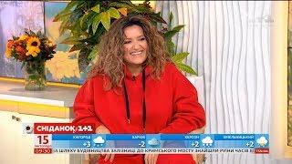 """Наталя Могилевська презентувала свій кліп """"Personal Jesus"""" у студії Сніданку"""