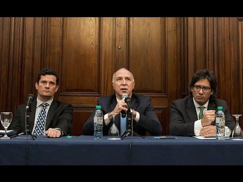 Jueces intercambiaron experiencias en un encuentro con Lorenzetti, Garavano y el juez Sérgio Moro
