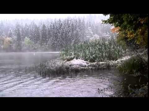 006   8 HOURS of Relaxing Music filmed with Rain and Snow FULL HD   Meditation,Relax,Sleep,Study,Mas