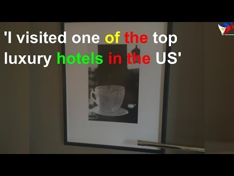 'i Visited One Of The Top Luxury Hotels In The Us'