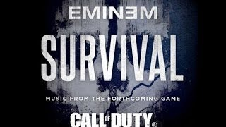 Repeat youtube video Eminem-  Survival (Audio Only)  !!!! 1 HOUR !!!!