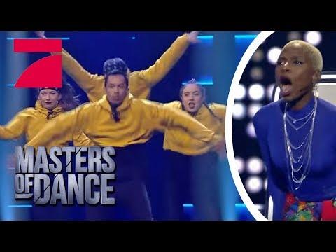 "Nikeata Thompson ON FIRE: Kann die Hip-Hop Kombo ""Fource"" überzeugen?  Masters of Dance  ProSieben"