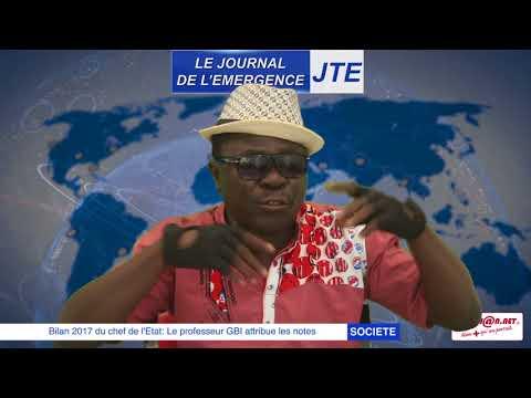 "JTE / Bilan du chef de l'Etat: le ""professeur"" GBI attribue les notes"
