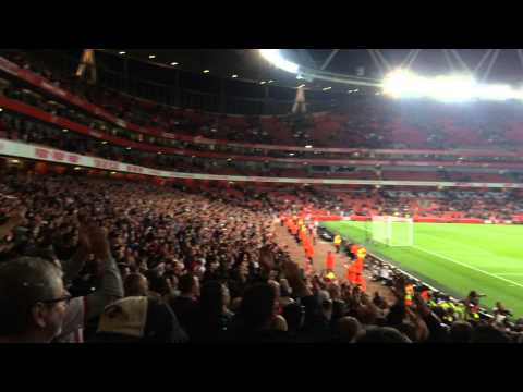 5200 southampton fans at the emirates singing 'dusan tadic' after a brilliant performance