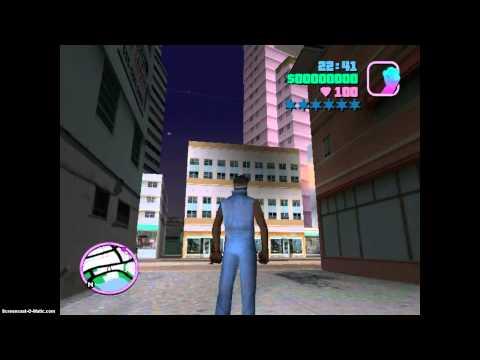 Como Cambiar El  Personaje Con Un Truco En Gta Vice City