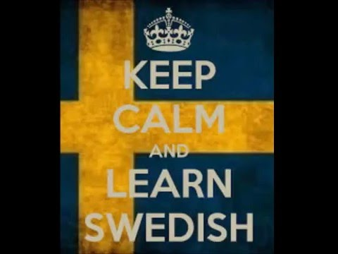 Learning Swedish is a free online course in Swedish for begi