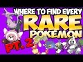Every RARE & SOS Exclusive Pokemon in Sun and Moon! (part 2) | Austin John Plays