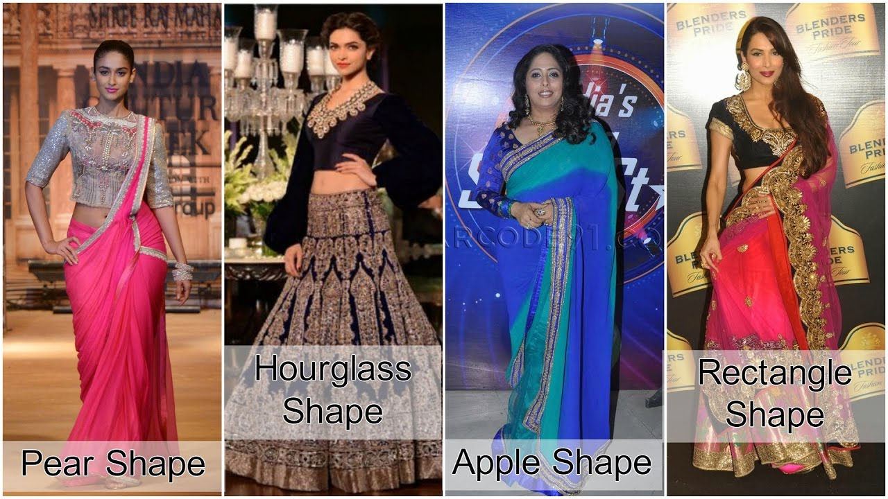 How To Dress For Your Body Shape In Indian Fashion Youtube