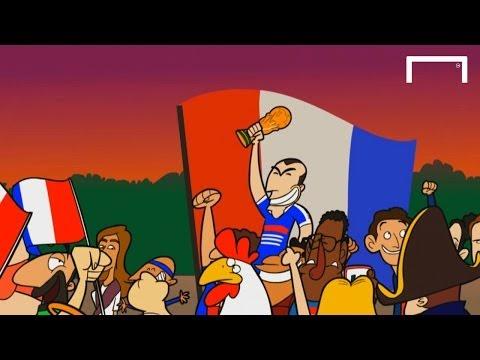 GOALTOONS: France's World Cup history