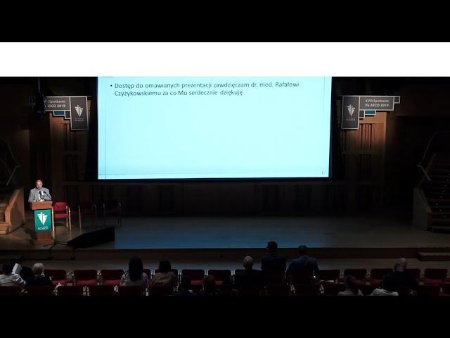 PoASCO Prof. dr hab. n. med. Piotr Potemski - Omówienie