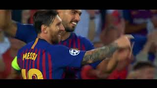 HD Lionel Messi Hattrick  PSV vs Barcelona Champions League (18.09.2018)