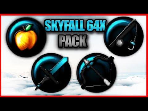 ★ Minecraft PvP Texture Pack L Skyfall 64x [1.7/1.8] ★