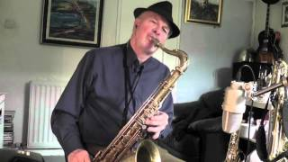 Jazz sax improvisation - Bags' Groove on Baritone, Tenor and Alto
