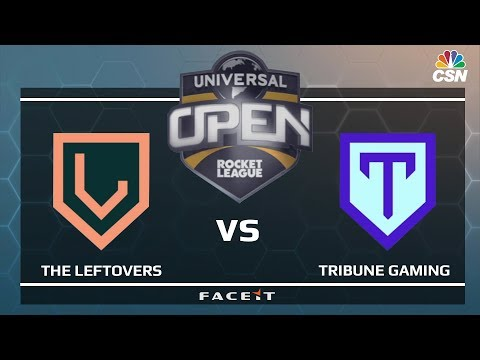 THE LEFTOVERS vs TRIBUNE GAMING - Universal Open Rocket League