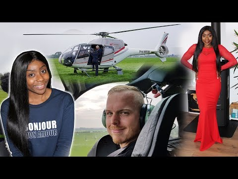 HE GOT A HELICOPTER & SHE GOT A HAIR TRANSFORMATION