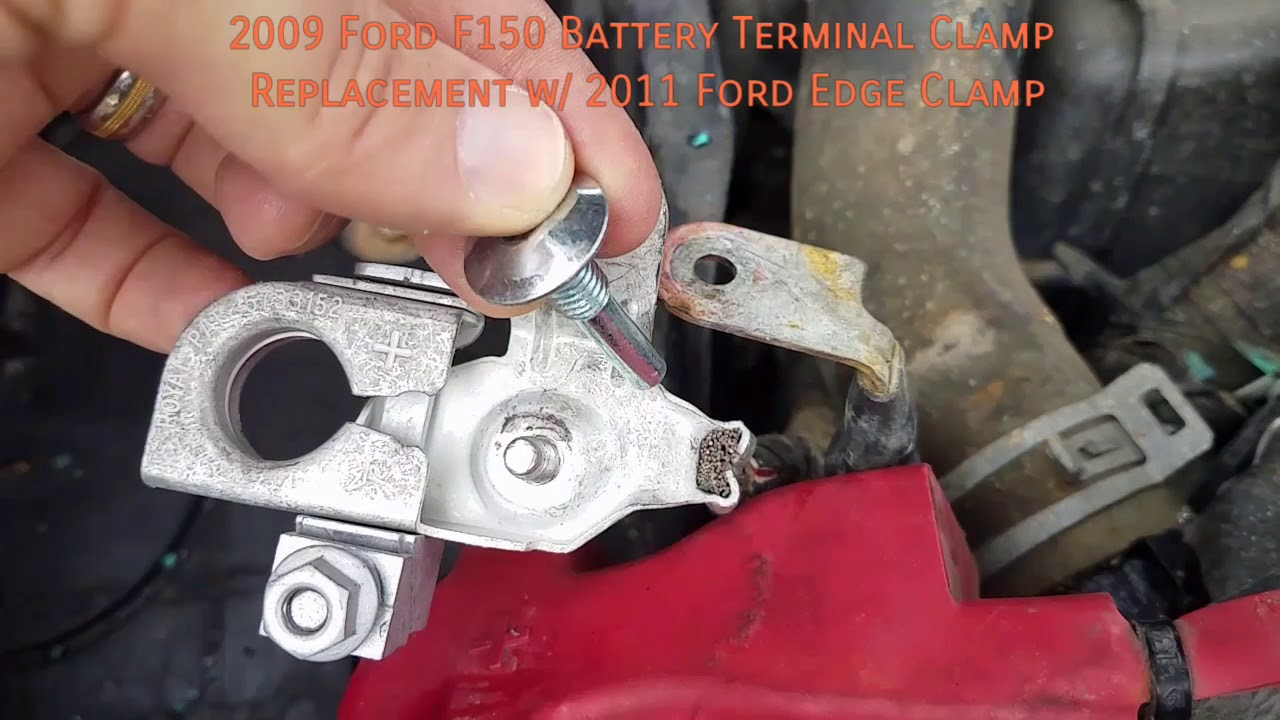 Ford F Battery Terminal Clamp Replacement W  Ford Edge Clamp