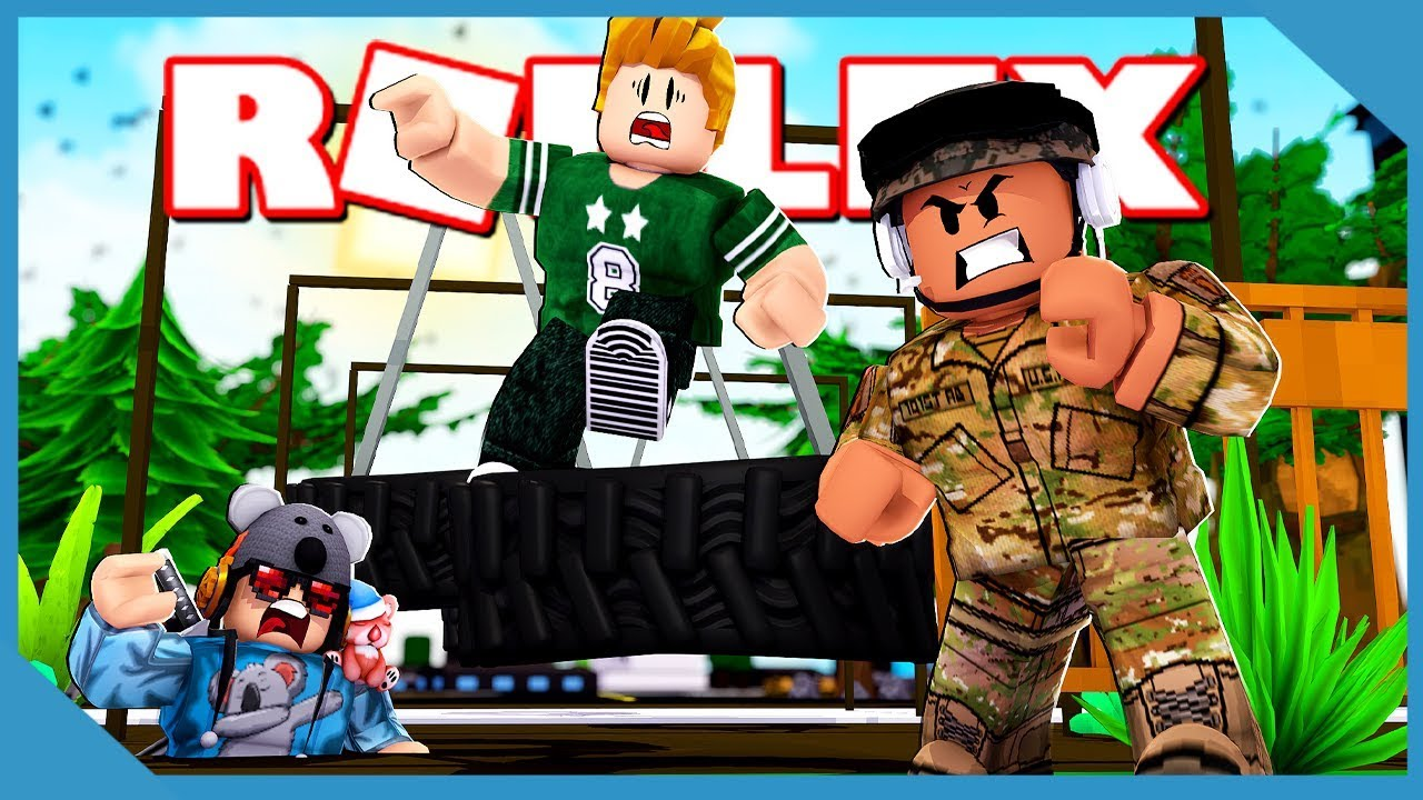 Roblox Military Training Obby Course Video Dailymotion Roblox Escape The Army Training Obby Youtube