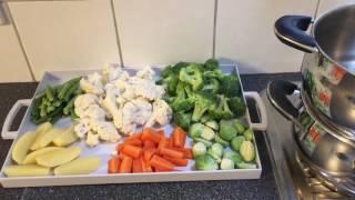 buharda sebze haşlama tarifi steam sebze diet sebze salatası