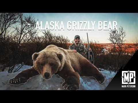 Alaska Grizzly Rifle Hunt | Mark Peterson Hunting cabela's black bear hunting