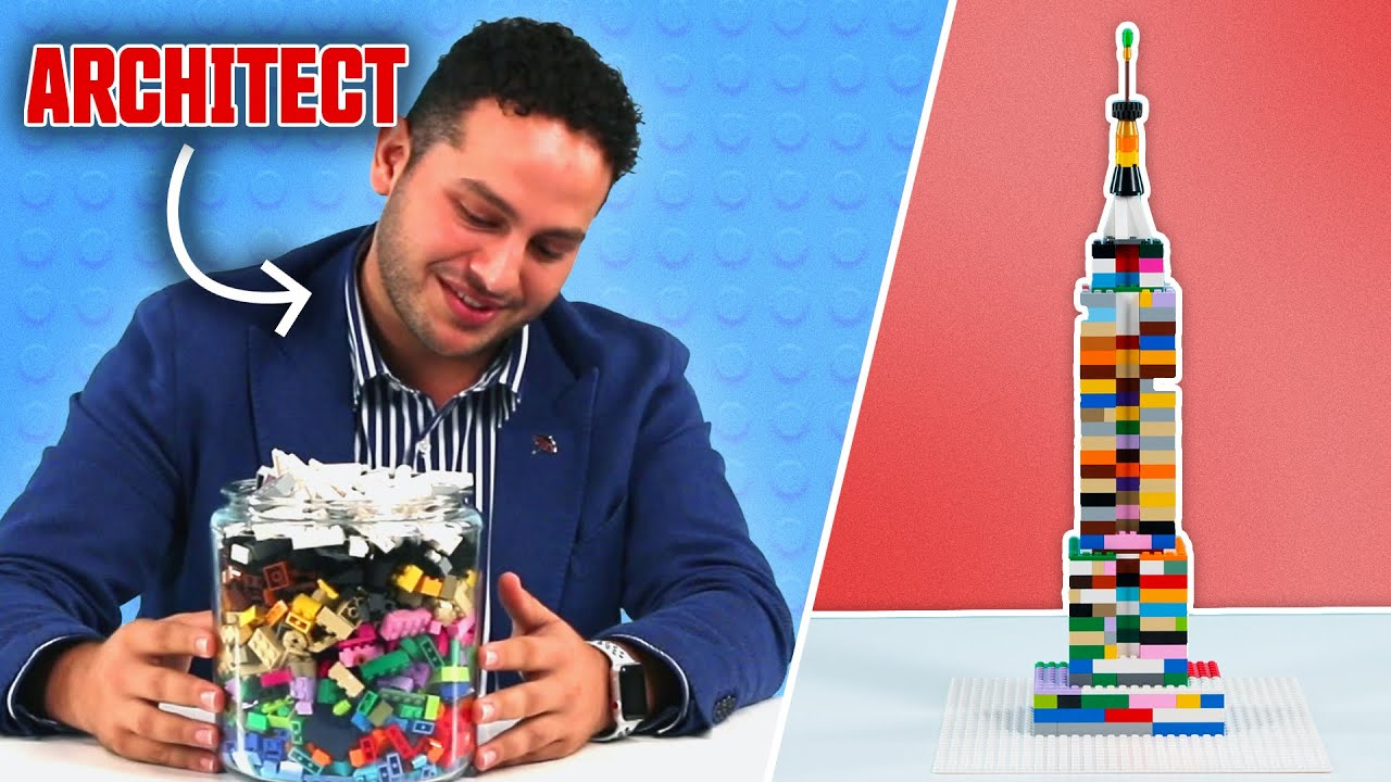 Can An Architect Build A LEGO Skyscraper With No Instructions?