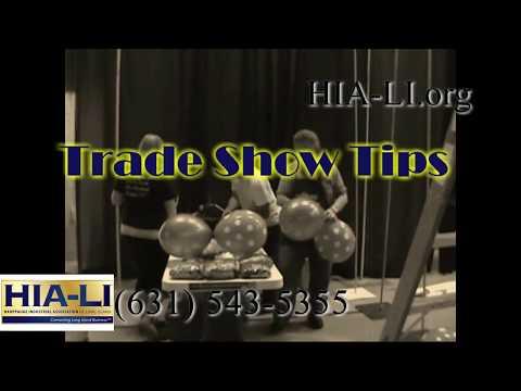 "HIA-LI Trade Show Tip #9 ""Using Promotional Items Right"""